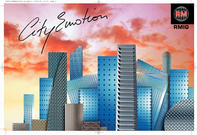 City Emotion - Perforacja w architekturze