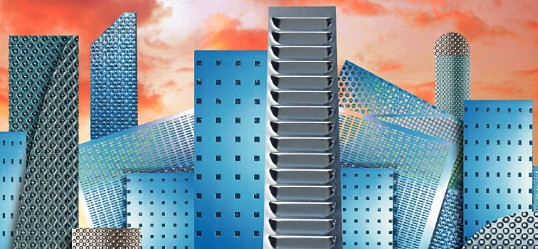 City Emotion - Perforation in Architecture