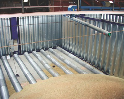 Perforation from RMIG used for floor drying