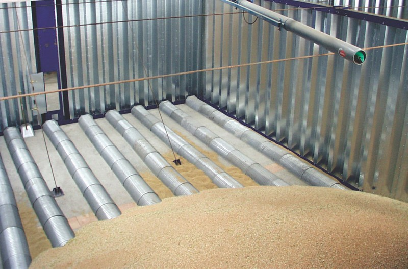 Perforated sheets used for floor drying