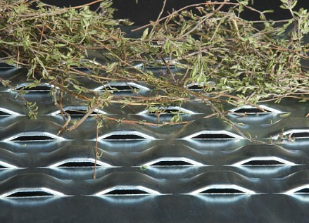 Bridge slot sheet from RMIG used for herb drying
