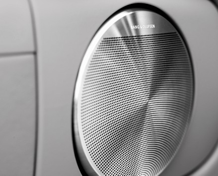Perforation from RMIG used for loudspeaker grilles