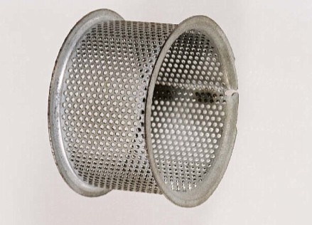 Perforated airbag components