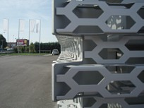 Perforation from RMIG used for Audi Terminal