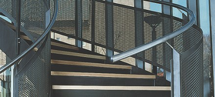 Perforated balustrades