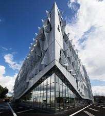 Gelochte Sonnenschutzelemente für das Kolding Campus, SDU in Dänemark