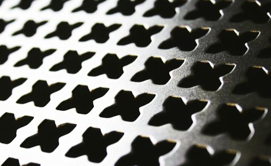 Ornamental perforation
