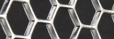Hexagonal perforation from RMIG