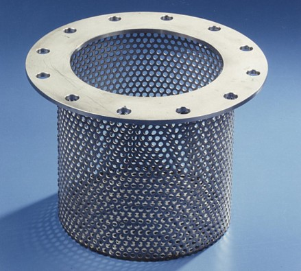 Perforation from RMIG used for water processing sieve