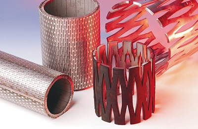 Perforated sheets used for expandable sand screen