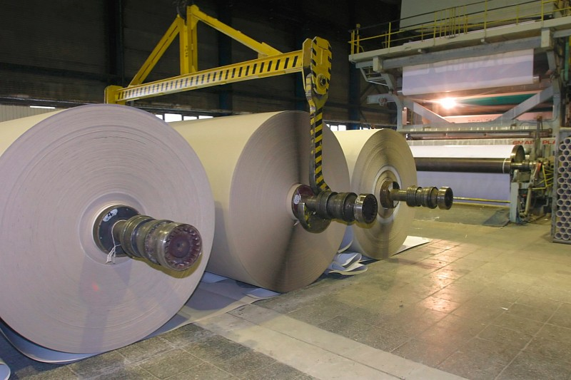 Papir- og pulpproduktion