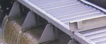 Tôles perforées utilisées dans le traitement des eaux usées