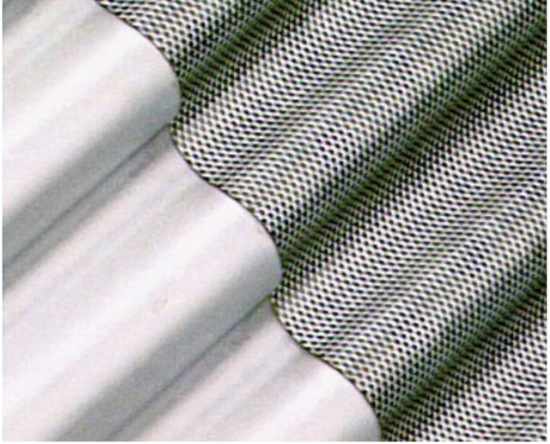 Perforerede plader anvendt til filtreringspaneler