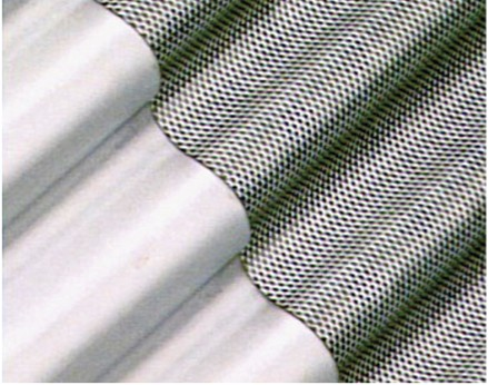 Perforated sheets used for separation vane panels
