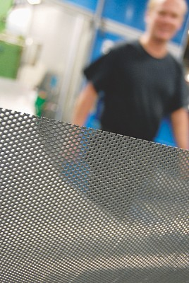 High quality perforated sheet from RMIG