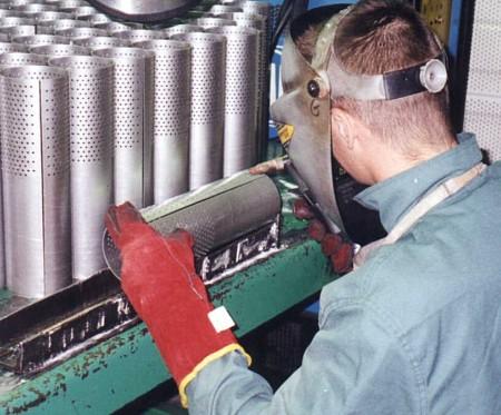 Welding of tubes