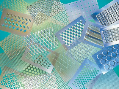 Perforated patterns and expanded metal