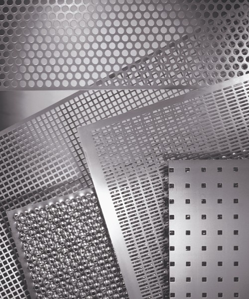 Different kind of RM perforation patterns