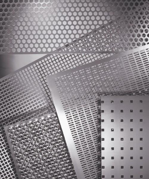 Palette de perforations RM