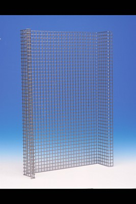 Folded perforated sheet