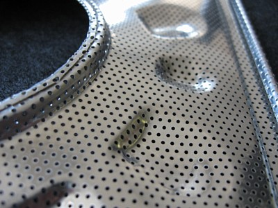 Perforated and formed metal products